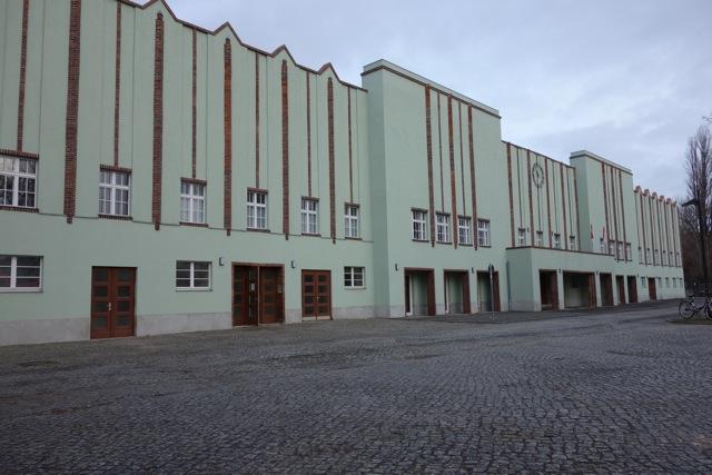 Poststadion Gebäude